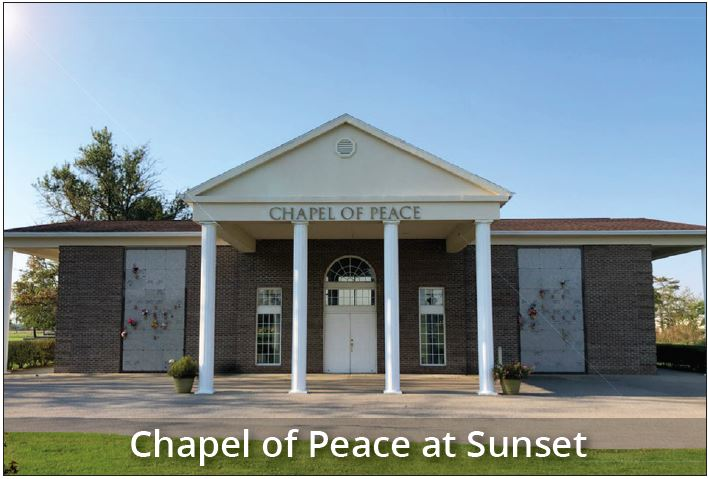 Chapel of Peace at Sunset