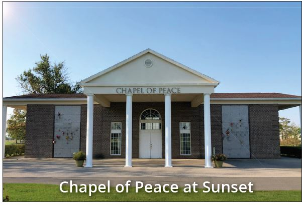 Chaple of Peace Funeral Service Sunset Evansville