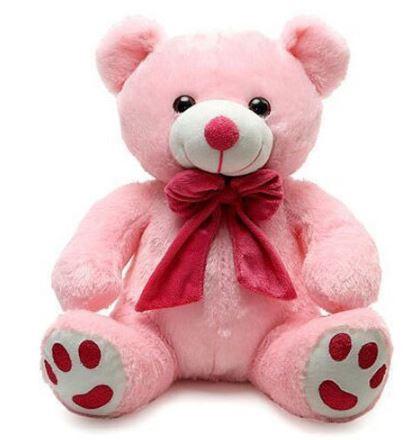 pink teddy - Adaline Kay Gisler