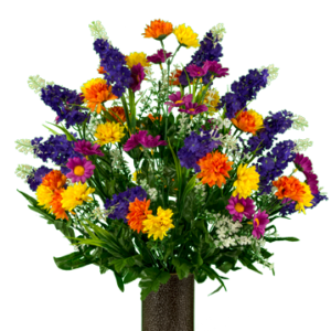 MD2320 Purple Violet Yellow Wildflower Mix 300x300 - Flowers & Gifts