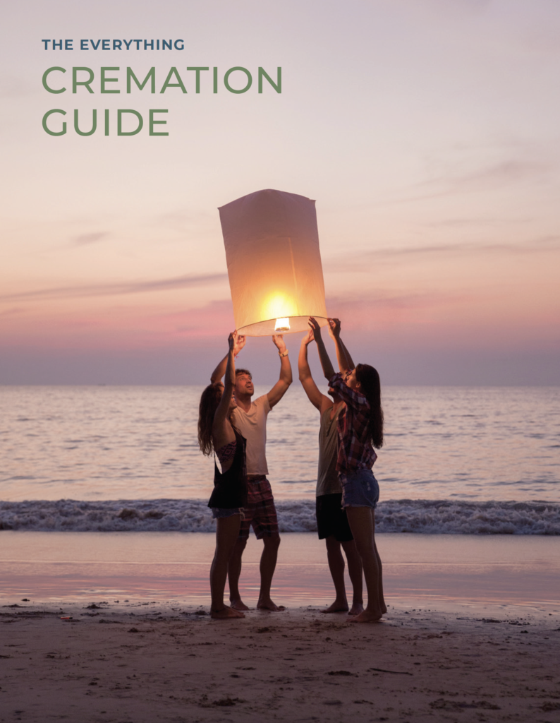COVER The Everything Cremation Guide 794x1024 - 75 Things You Can Do With Cremated Ashes
