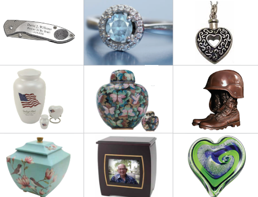 Facebook Image Keepsakes - 75 Things You Can Do With Cremated Ashes